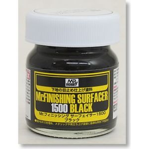 Mr.Finishing Surfacer 1500 Black; 40 ml