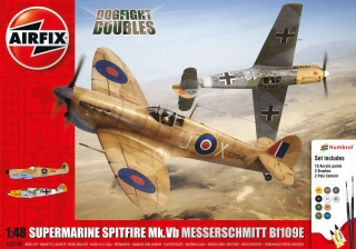Dogfight Spitfire vs. Messerschmitt SET; 1:48