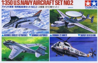 U.S. NAVY Aircraft Set No.2; 1:350