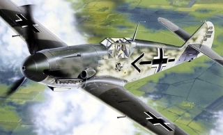 Messerschmittt Bf 109 F2/4; 1:72