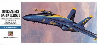 "F/A-18A HORNET ""Blue Angels""; 1:72"