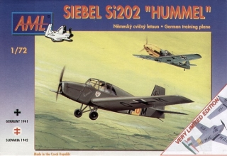 "Siebel Si 202 ""Hummel"" VERY LIMITED EDITION; 1:72"
