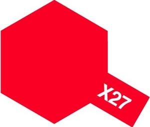 X-27 - Clear Red acryl 23 ml