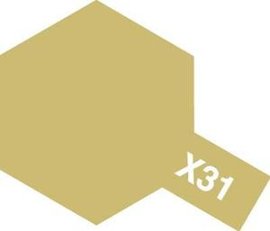 X-31 - Titanium Gold acryl 23 ml