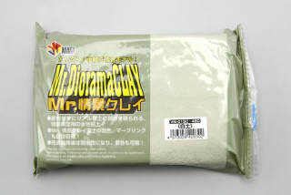 Mr. Diorama Clay - White Earth; 300g