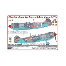 Dekály Soviet Aces in Lavochkin La-5F Part II; 2 ks.; 1:48