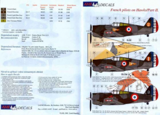 Dekály French pilots on Hawks/Curtis Hawk 75A-1 Part II.;1:48
