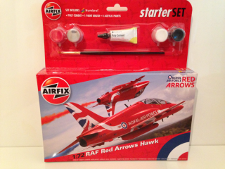 RAF Red Arrows Hawk Starter SET; 1:72