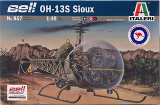 Bell OH-13S Sioux; 1:48