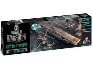 USS Essex - World of Warship set; 1:700