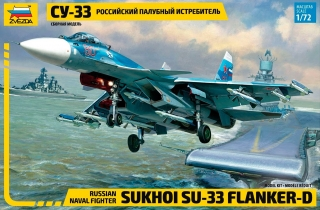 Su-33 Flanker-D; 1:72