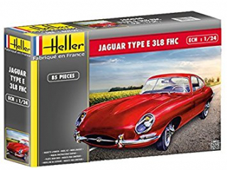 Jaguar Type E 3L8 FHC; 1:24
