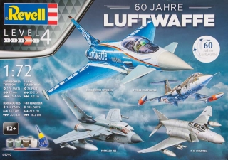60th Anniversary Luftwaffe Gift set; 1:72