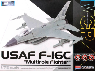 "F-16C USAF ""Multirole Fighter""; MCP 1:72"