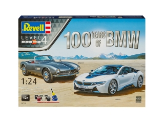 100 Years BMW Gift set; 1:24