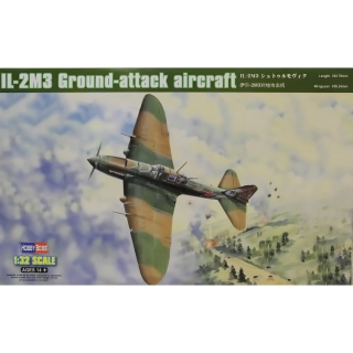 IL-2M3 Ground-attack aircraft; 1:32