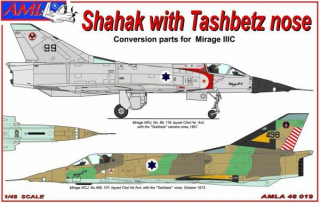 Shahak with Tashbetz nose Conversion parts; 1:48