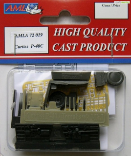 Curtiss P-40C Conversion parts; 1:72
