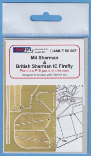 P-E diely M4 Sherman & British Sherman IC Firefly; 1:48