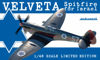 Velveta / Spitfire for Israel (limited edition); 1:48