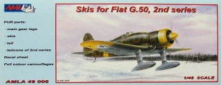 Skis for Fiat G.50, 2nd series Conversion set; 1:48