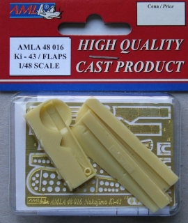 Ki-43 wheel set + flaps Conversion set; 1:48