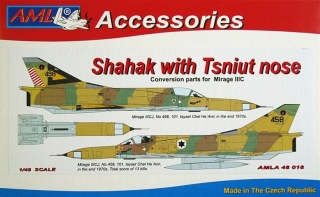 Shahak with Tsniut nose Conversion parts; 1:48