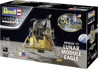 "Apollo 11 Lunar Module ""Eagle"" Gift Set; 1:48"