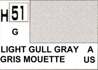 H51 Light Gull Grey Gloss 10 ml