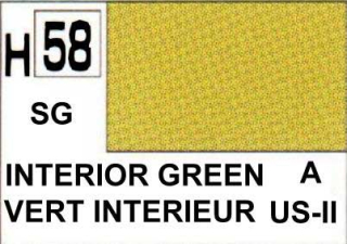 H58 Interior Green Semigloss 10 ml