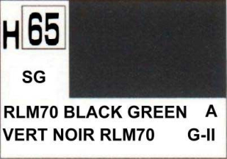 H65 RLM70 Black Green Semigloss 10 ml