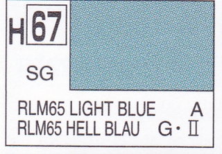 H67 RLM65 Light Blue Semigloss 10 ml