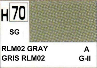 H70 RLM02 Grey Semigloss 10 ml