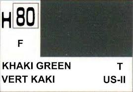 H80 Khaki Green Flat 10 ml