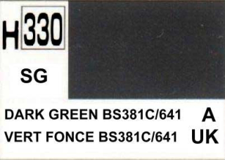 H330 Dark Green BS381C/641 Semigloss 10 ml