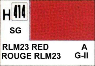 H414 RLM23 Red Semigloss 10 ml
