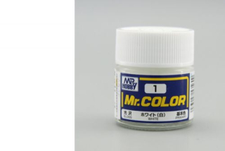 C1 Mr.Color White Gloss 10 ml