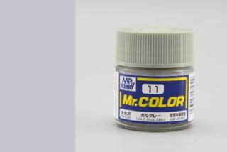 C11 Mr.Color Light Gull Grey Semigloss 10 ml