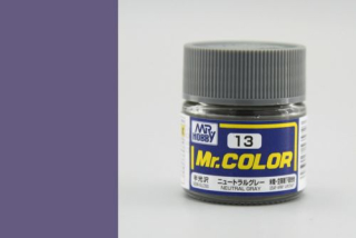 C13 Mr.Color Neutral Gray Semigloss 10 ml