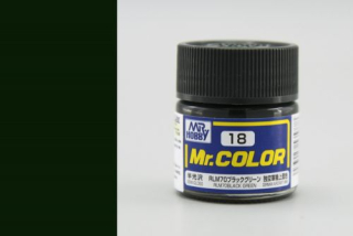 C18 Mr.Color RLM70 Black Green Semigloss 10 ml
