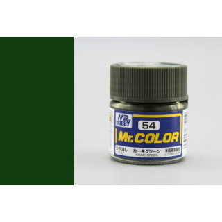 C54 Mr.Color Khaki Green flat 10 ml