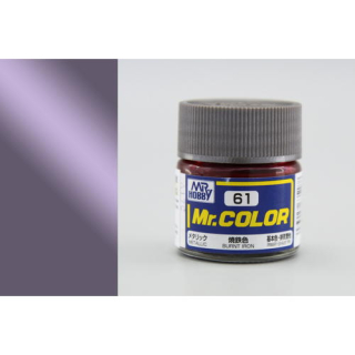 C61 Mr.Color Burnt Iron Metallic 10 ml