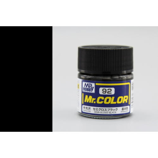 C92 Mr.Color Black Semigloss 10 ml