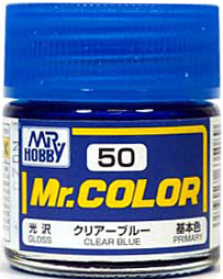 C50 Mr.Color Clear Blue Gloss 10 ml