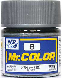 C8 Mr.Color Silver Metalic 10 ml