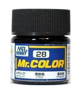 C28 Mr.Color Steel Metalic 10 ml