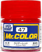 C47 Mr.Color Clear Red Gloss 10 ml