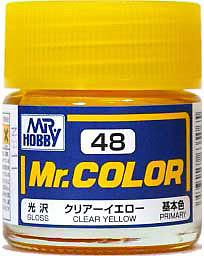 C48 Mr.Color Clear Yellow Gloss 10 ml